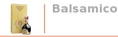 BALSAMICO Essig
