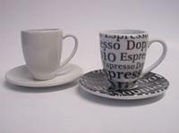 Coffee Bar Espresso Doppio Set